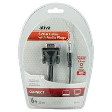 Ativa 6 VGASVGA Video Cable Plus