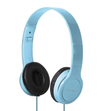 BYTECH On Ear Headphones Blue BYAUOH143BL