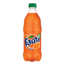 Fanta Orange 20 Oz Bottle