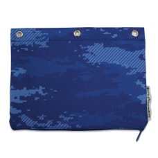 U Style 3 Ring Pencil Pouch