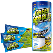 Green Gobbler Drain Opening Pacs Unscented