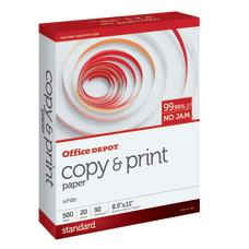 Office Depot Copy And Print Paper