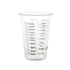 Medline Graduated Disposable Plastic Drinking Cups