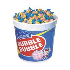 Dubble Bubble Gum 393 Lb Tub