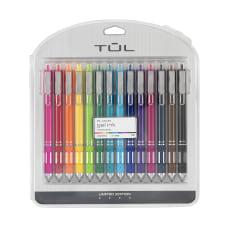 TUL Retractable Gel Pens Medium Point