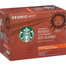 Starbucks Breakfast Blend K Cup Arabica