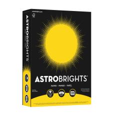 Astrobrights Color Paper 85 x 11