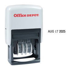 Office Depot Brand Date Line Dater