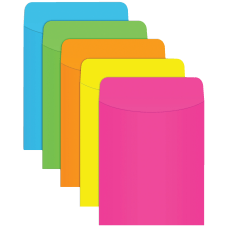 Top Notch Teacher Products Neon Pockets