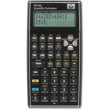 HP 35s Scientific Calculator 100 Functions