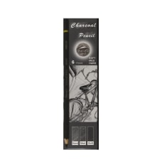 Pacific Arc Charcoal Pencils Set Of