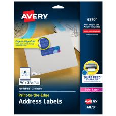 Avery Print To The Edge Permanent