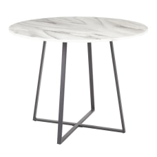 LumiSource Cosmo Marble Dining Table 31