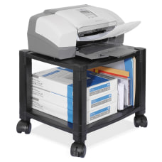 Kantek 2 Shelf Mobile PrinterFax Stand