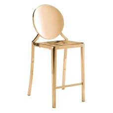 Zuo Modern Eclipse Counter Chairs Gold