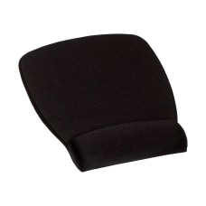 3M Antimicrobial Foam Mouse Pad Black