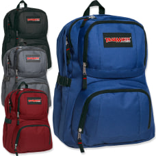 Trailmaker Double Compartment Backpacks Assorted Colors