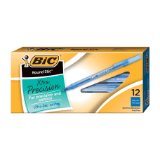BIC Round Stic Ballpoint Pens Fine