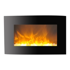 Cambridge Callisto CAM35WMEF 1BLK Electric Fireplace