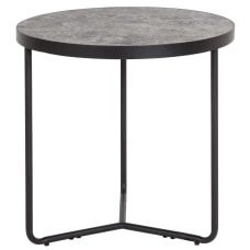 Flash Furniture Round End Table 19