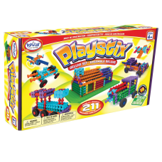 Popular Playthings Playstix 211 Piece Deluxe