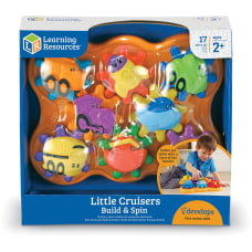Learning Resources Little Cruisers Build Spin