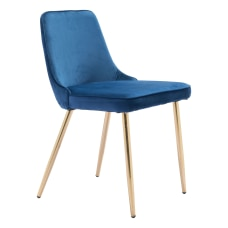 Zuo Modern Merritt Dining Chairs Navy