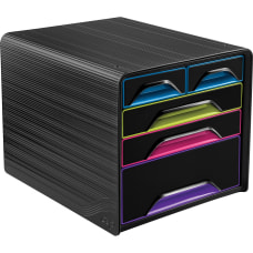 CEP Smoove Plastic 5 Drawer Desktop