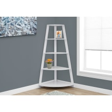 Monarch Specialties 4 Shelf Etagere Corner
