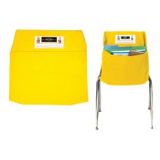 Seat Sack Organizers Small 12 Yellow