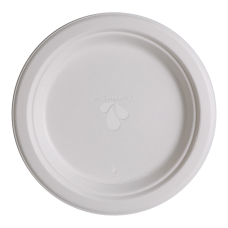 Highmark Compostable Sugarcane Paper Plates 9