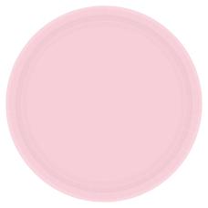 Amscan Round Paper Plates 7 Blush