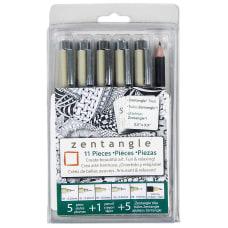 Sakura Zentangle Drawing Set Black Ink
