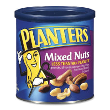 Planters Mixed Nuts 15 Oz Canister