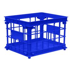 Office Depot Brand FilingStacking Crate Medium
