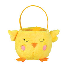 Amscan Plush Chick Easter Baskets Medium