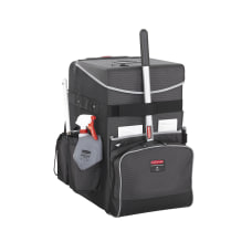 Rubbermaid Executive Quick Cart Large Dark