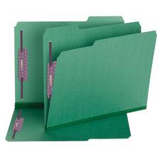 Smead Color Pressboard Fastener Folders With