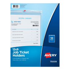 Avery Vinyl Job Ticket Holder 9