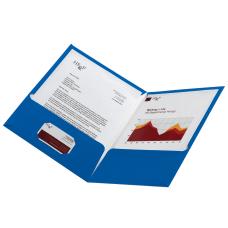Office Depot Laminated Paper 2 Pocket