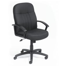 Boss Mid Back Fabric Chair Black