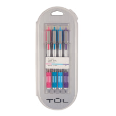TUL Retractable Gel Pens Medium Point