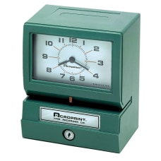 Acroprint 150NR4 Heavy Duty Time Recorder