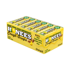 Honees Cough Drops Honey Lemon Box