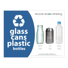 Recycle Across America Glass GCP 8511
