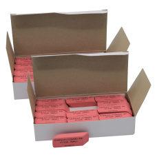 Charles Leonard Natural Rubber Wedge Erasers