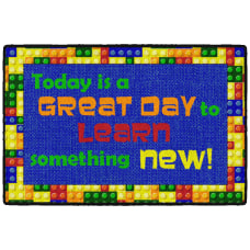 Flagship Carpets Great Day Welcome Mat