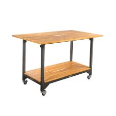 Vari Standing Conference Table Butcher Block