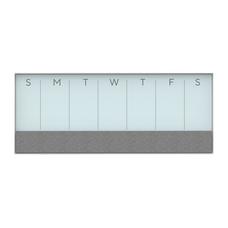 U Brands Magentic Dry EraseBulletinCalendar Board