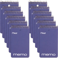 Mead Wirebound Memo Book 60 Sheets